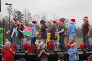 Perfoming at Parade