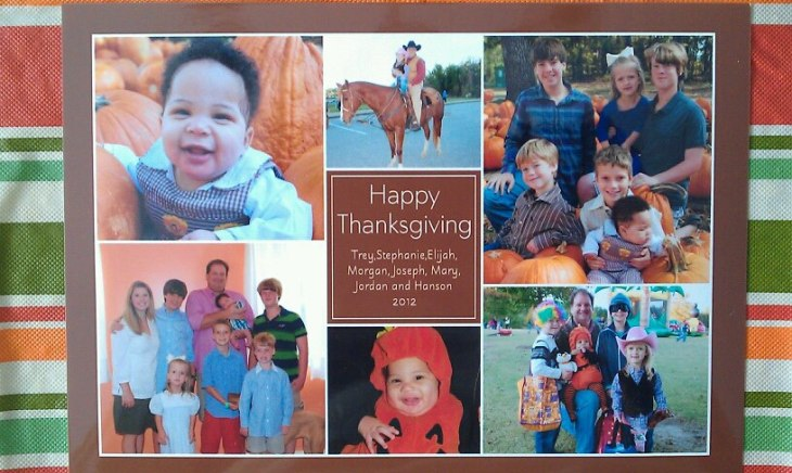 Thanksgiving 2012 card