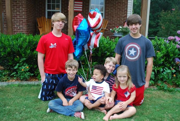 God Bless America! Happy 4th of July The Garrett Family