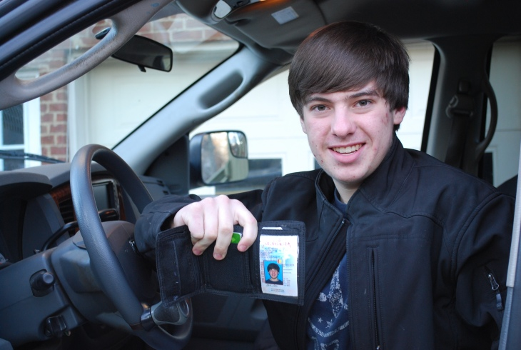 We have a legal licensed 16 year old male driver!