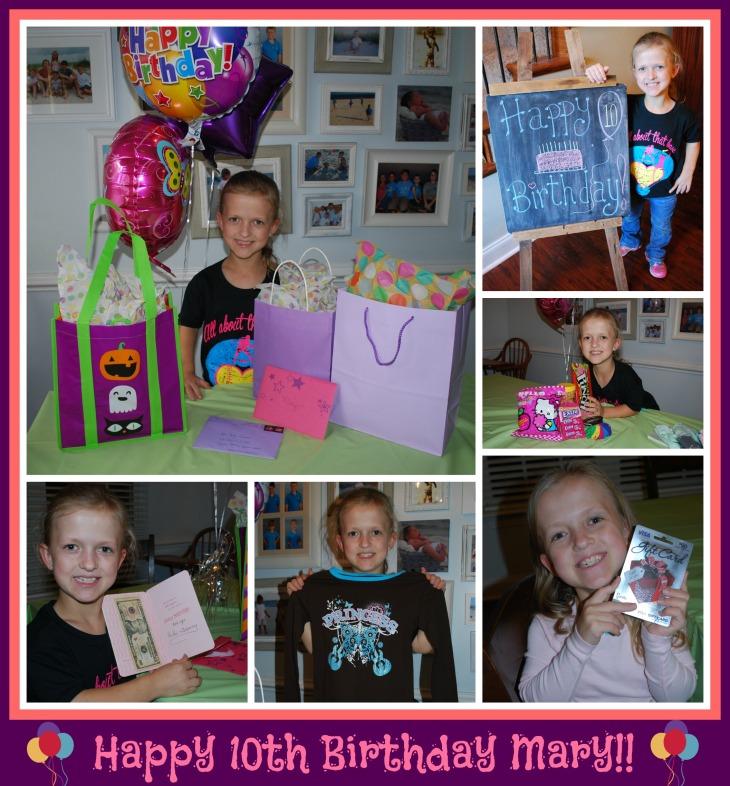 Mary 10 Birthday1
