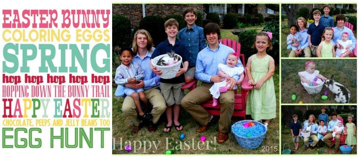 Spring Easter card