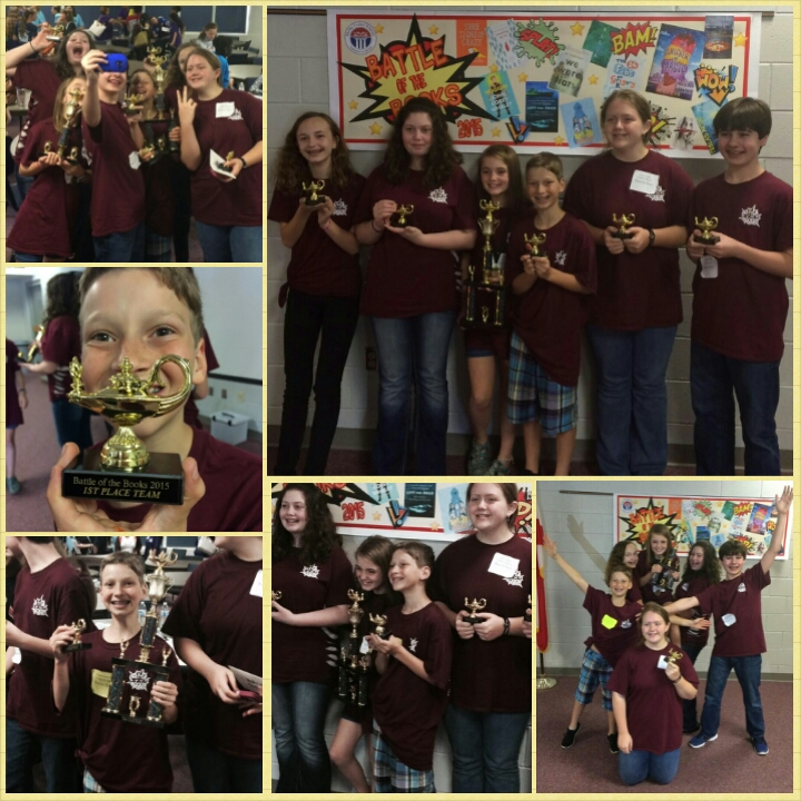 Battle of the Books 1st place Chelsea Middle School!!